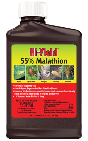 Hi-Yield 55% MALATHION SPRAY
