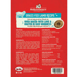 Stella & Chewy's Grass-Fed Lamb Raw Coated Biscuits