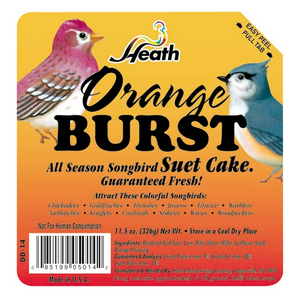 HEATH ORANGE BURST SUET CAKE