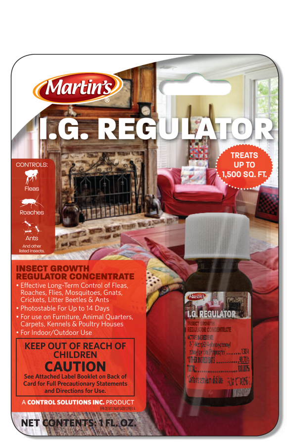 Martin's I.G. Regulator
