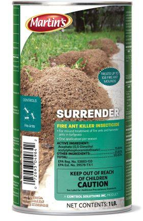 Martin's Surrender Fire Ant Killer Insecticide