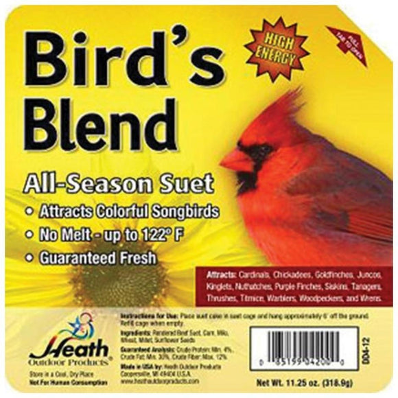 BIRD'S BLEND ALL-SEASON HIGH ENERGY SUET