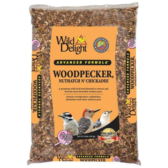WILD DELIGHT WOODPECKER, NUTHATCH N CHICKADEE FOOD