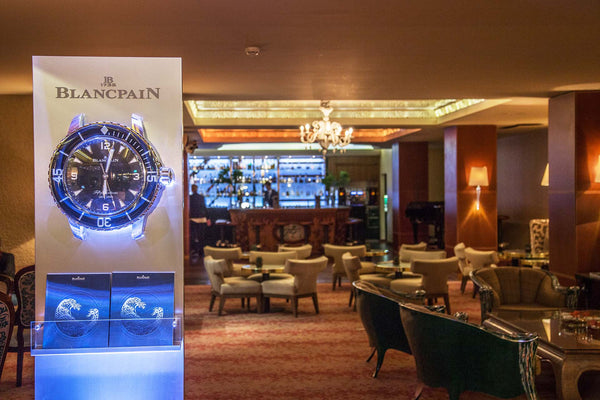 Blancpain presentation at Tschuggen Grand Hotel in Arosa in 2018