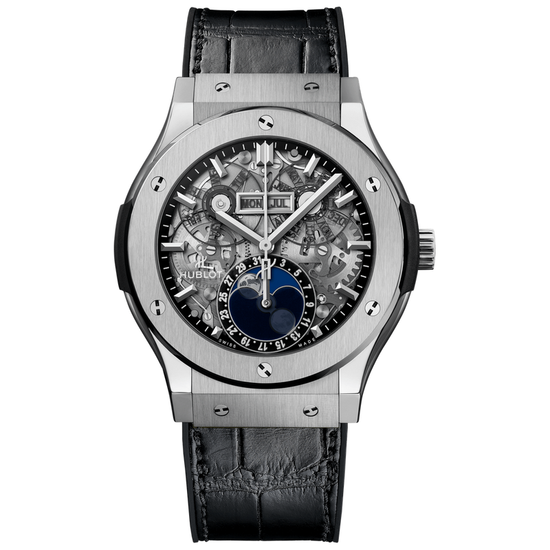 Aerofusion Moonphase Titanium