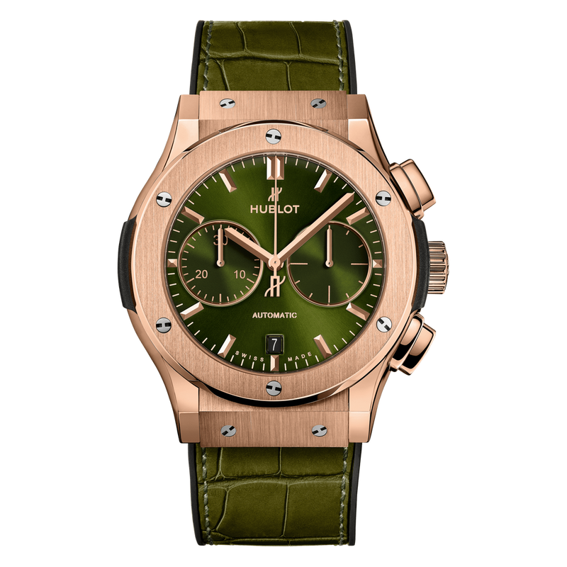 Chronograph King Gold Green