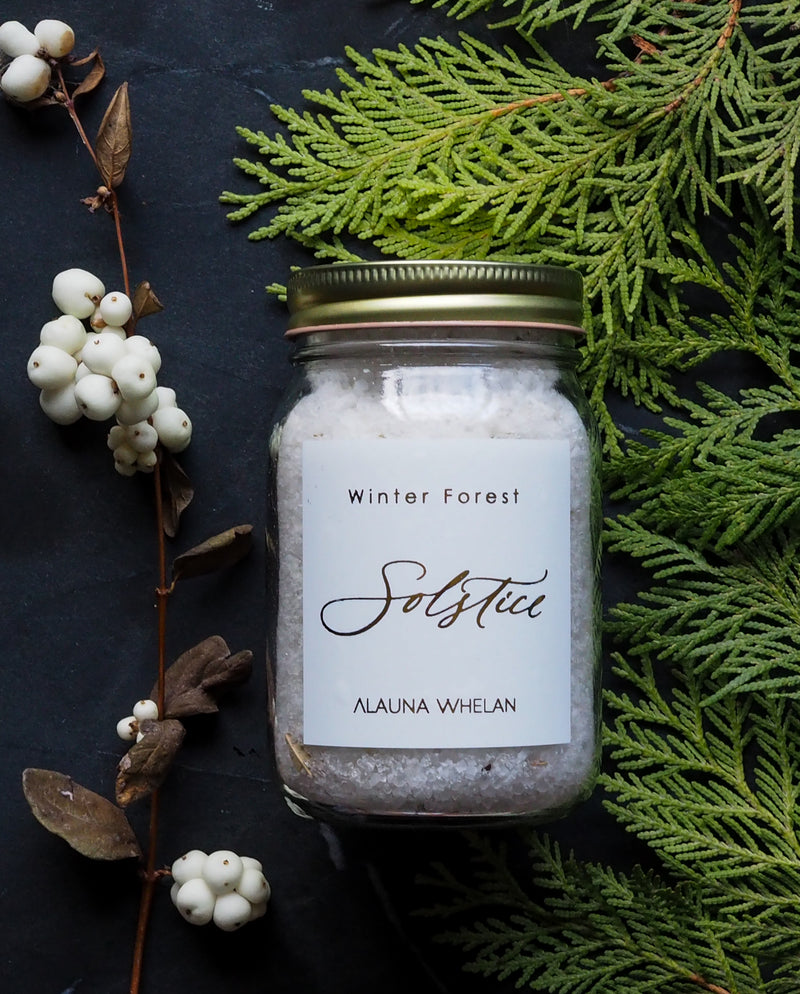 winter solstice bath soak