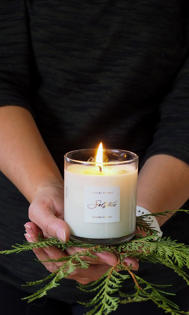 New: Limited Edition Winter Solstice Candle for Seasonal Ritual Sets