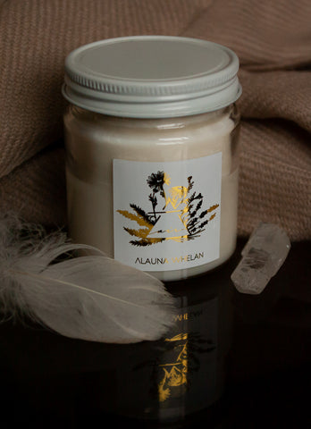 air element soy intention handpoured luxury candle