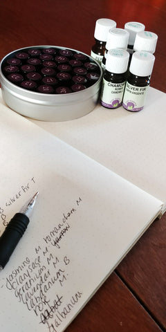 botanical perfume supplies and formula journal