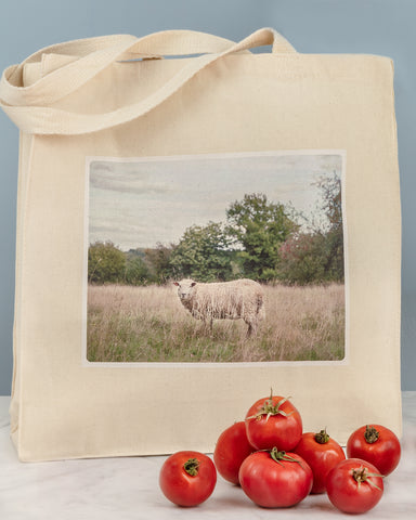 bertrand sheep tote by laura farrell
