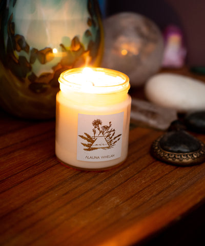 air element soy intention candle