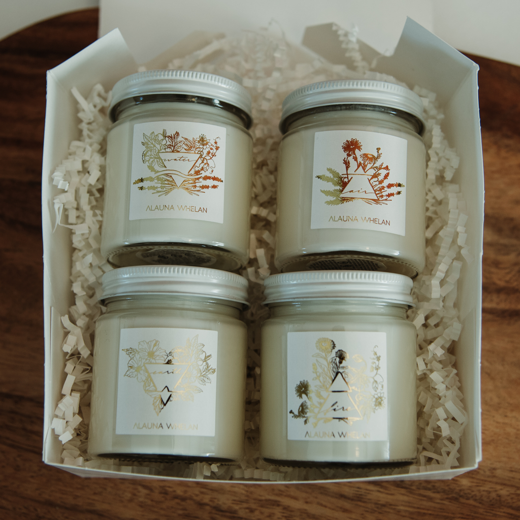 Element Candle Boxed Set