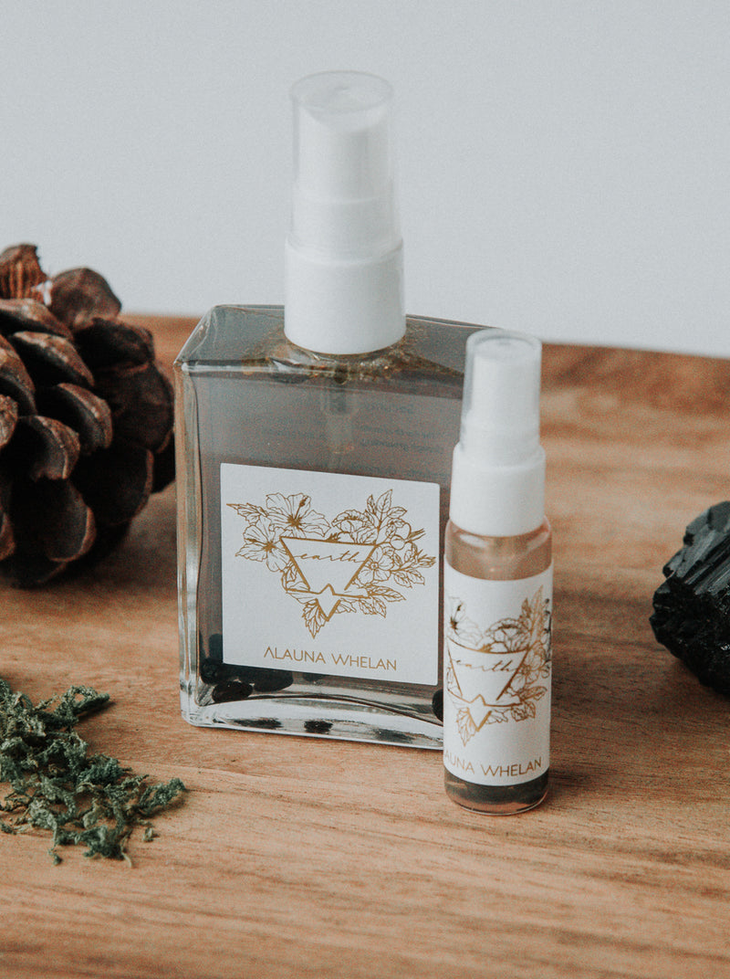 earth ritual mist, two sizes