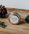 earth botanical intention soy travel tin candle