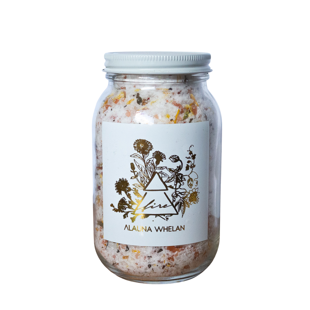 fire sign luxury bath salts