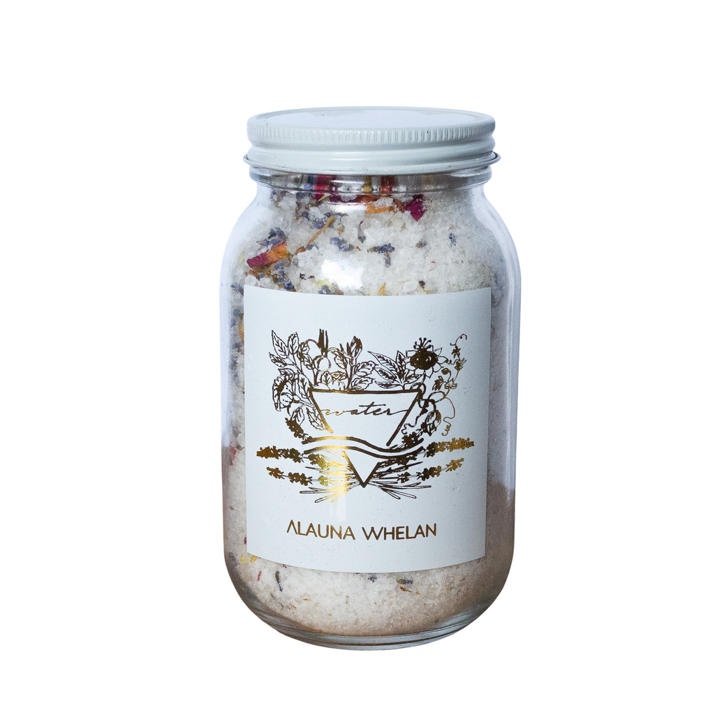 water sign luxury ritual bath salts