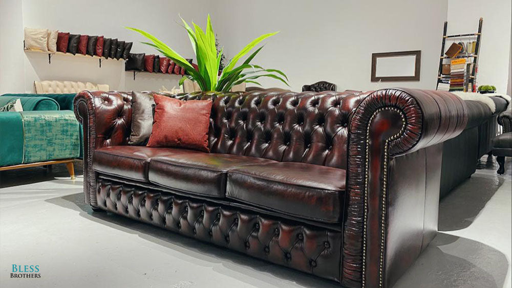 Chesterfield Leather Sofa Singapore