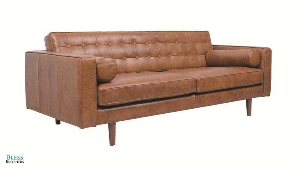 Vancouver 3 Seater Full Leather Sofa