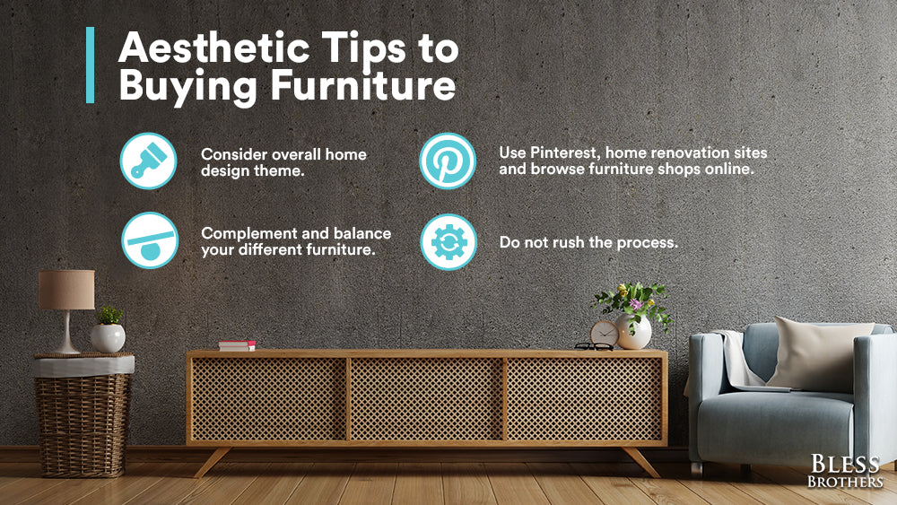aesthetic tips to buying furniture