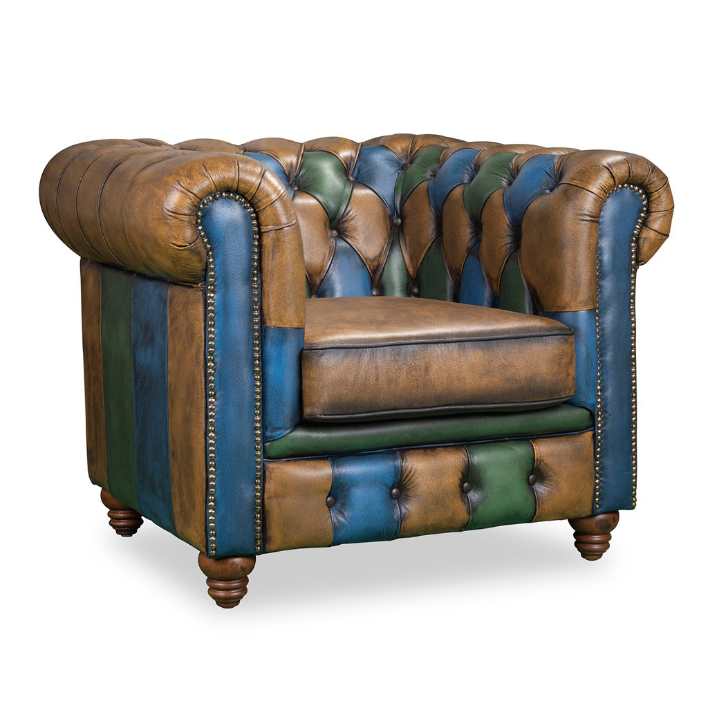 Jester 1 Seater Vintage Sofa