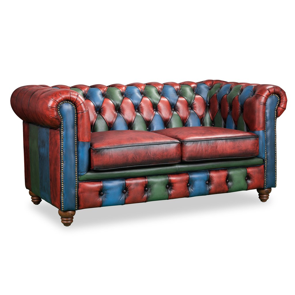 Jester 2 Seater Vintage Sofa