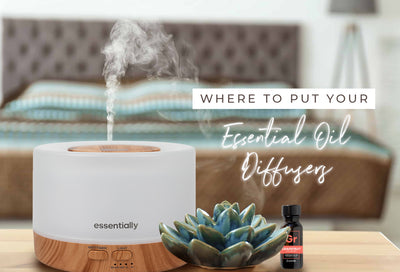 Where to put your essential oil diffuser