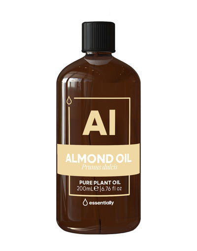 Almond Pure Cold Pressed Organic Carrier Oil - Essentially Co Australia