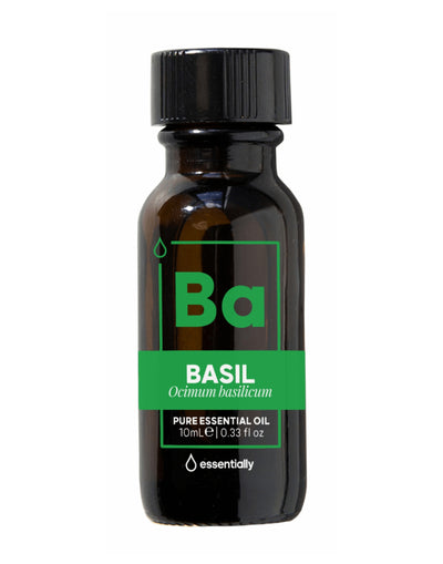 Basil Pure Organic Essential Oil - Essentially Co Australia