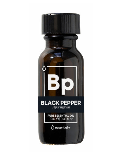 Black Pepper Pure Organic Essential Oil - Essentially Co Australia