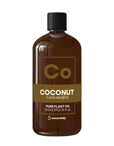 Coconut Pure Cold Pressed Organic Carrier Oil - Essentially Co Australia
