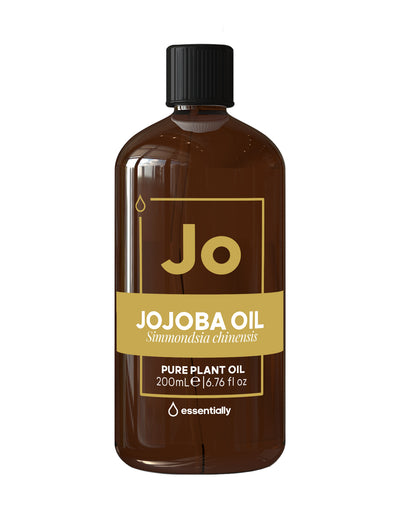Jojoba Pure Cold Pressed Organic Carrier Oil - Essentially Co Australia