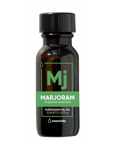 Marjoram Pure Organic Essential Oil - Essentially Co Australia