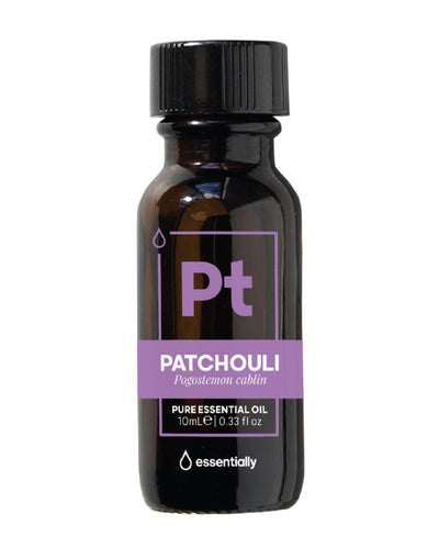 Patchouli Pure Organic Essential Oil - Essentially Co Australia