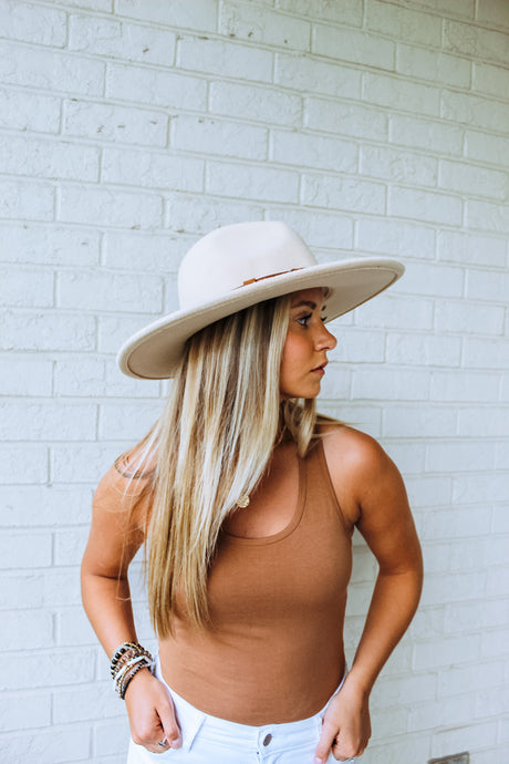 Nashville Wide Brim Hat