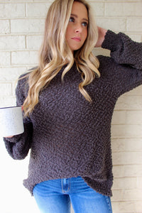 Sadie Sweater- Ash Grey
