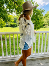 Load image into Gallery viewer, Starry Night - Knit Cream Sweater