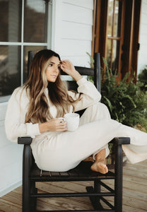 California Dreaming Loungewear - Cream