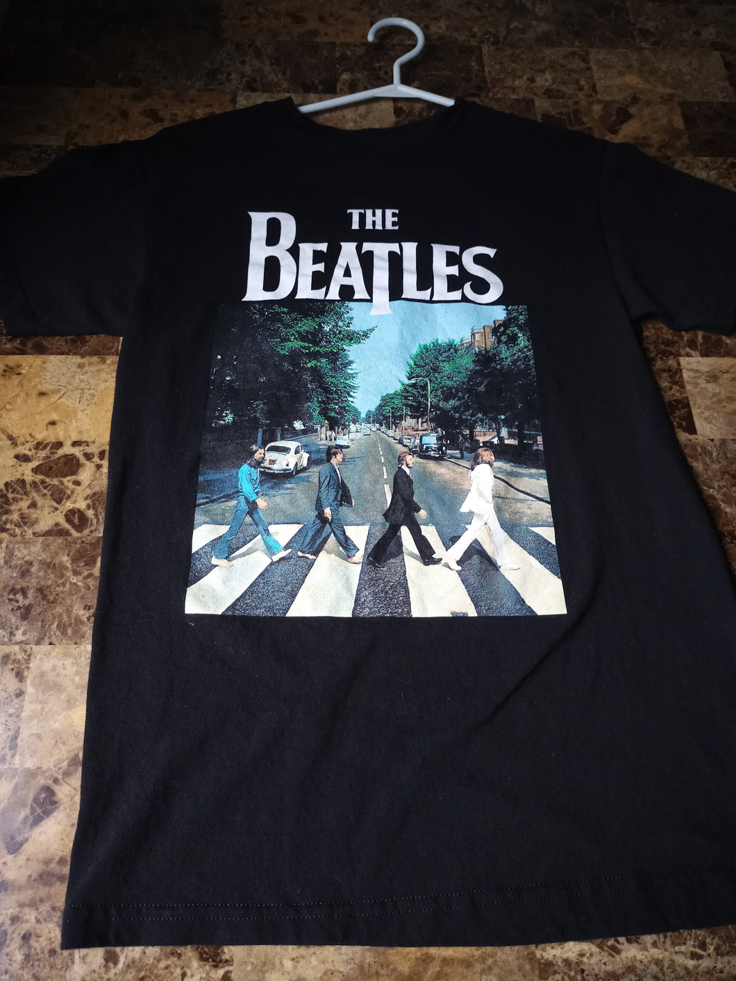 The Beatles Black Tee