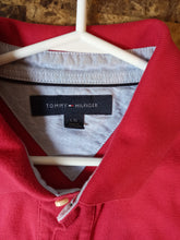 Load image into Gallery viewer, Tommy Hilfiger Red Polo