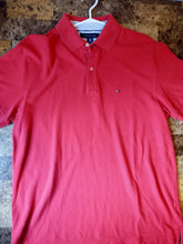 Load image into Gallery viewer, Tommy Hilfiger Crimson Polo Shirt