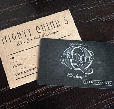 Mighty Quinn's Gift Card
