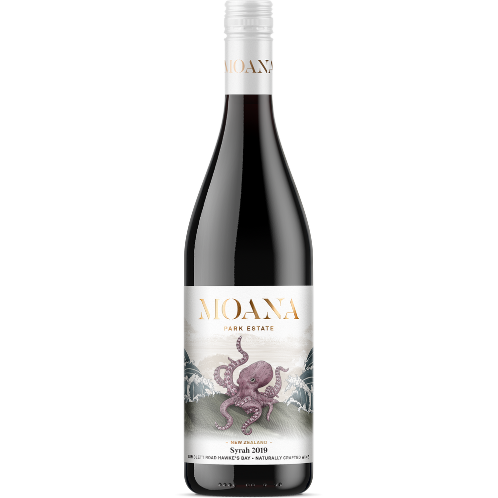Moana Park Estate | Growers' Collection | Syrah 2019 - Moana Park Estate