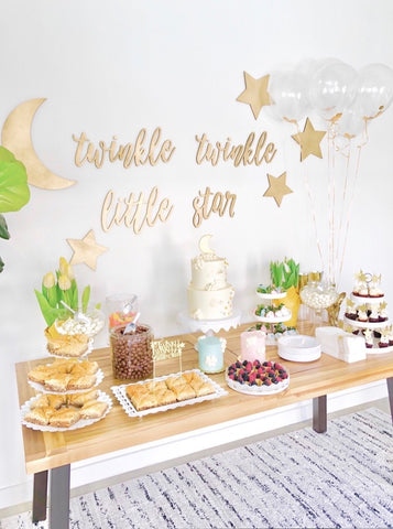 Twinkle Twinkle Little Star Backdrop Sign