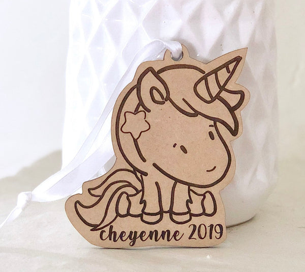 Dragon Ornament, Boy Ornament, Rainbow Ornament, Ornament for Kids, Christmas Ornament, Personalized Ornament, Unicorn Gift, 2019 Ornament