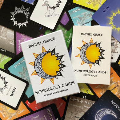 NUMEROLOGY CARDS Rachel Grace