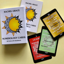 Load image into Gallery viewer, NUMEROLOGY CARDS Rachel Grace