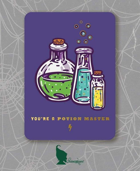 Stationary - You're A Potion Master