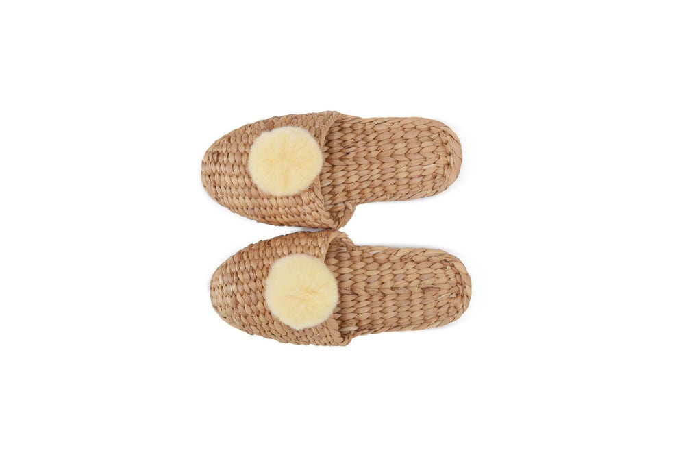 Load image into Gallery viewer, Pom Pom Slippers