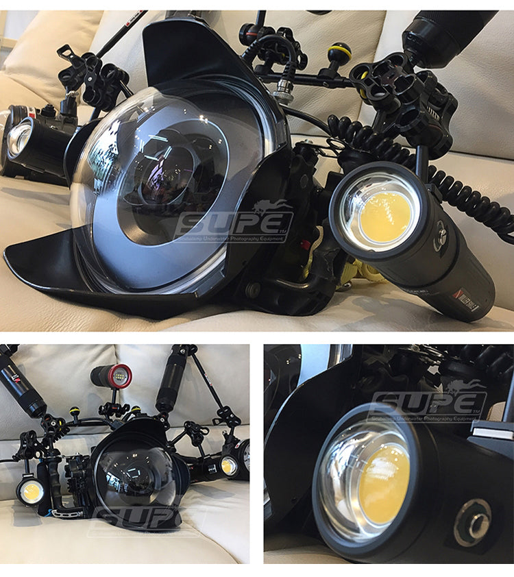 V6K (12,000 lumens) - Powerful Video Light in Travel Package